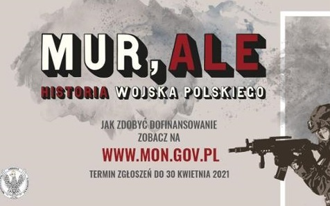 """Konkurs  """"MUR, ALE HISTORIA WOJSKA POLSKIEGO"""""""