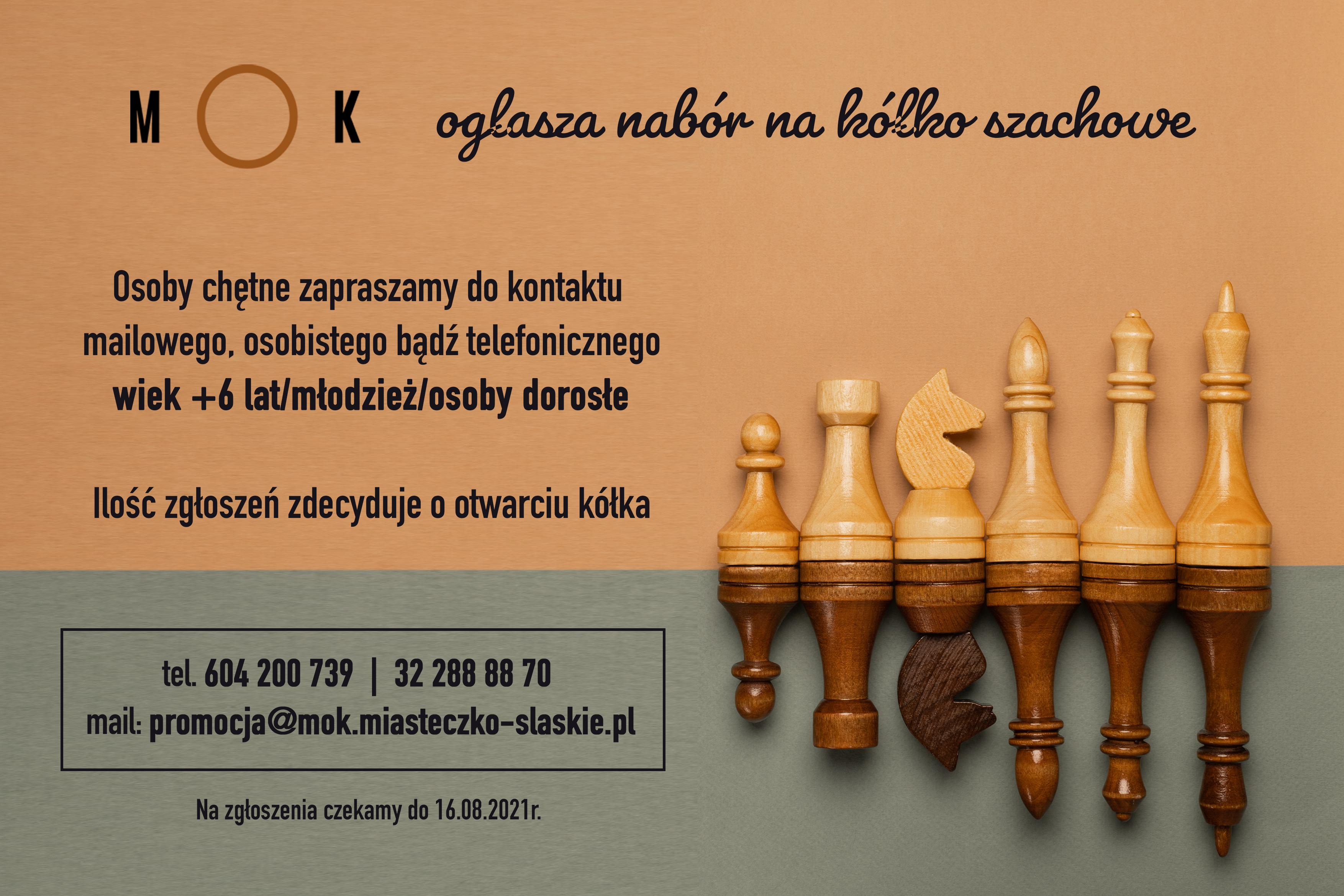 Spotkanie organizacyjne kółka szachowego