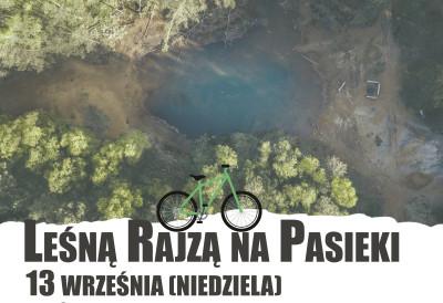 grafika do wpisu: Leśną Rajzą na Pasieki - nowy termin!