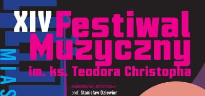 grafika do wpisu: Festiwal Muzyczny im. ks. Teodora Christopha