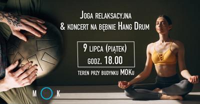 grafika do wpisu: JOGA relaksacyjna & koncert na bębnie Hang Drum