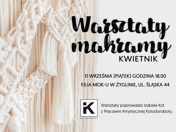 Warsztaty Makramy