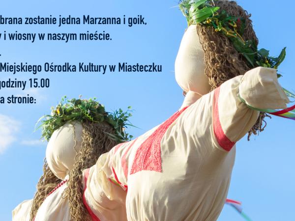 """""""Żegnaj Zimo"""" - EKOKonkurs na najładniejszy goik wiosenny lub Marzannę"""