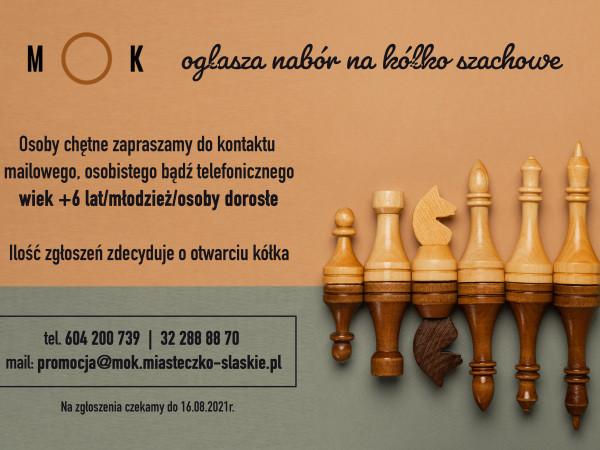 Nabór na kółko szachowe