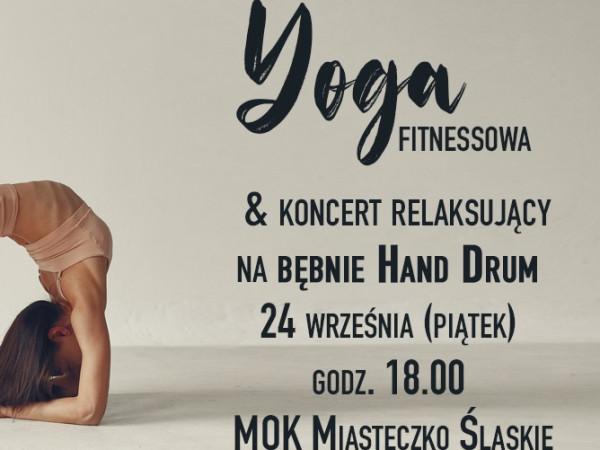 YOGA fitnessowa & koncert na bębnie Hang Drum