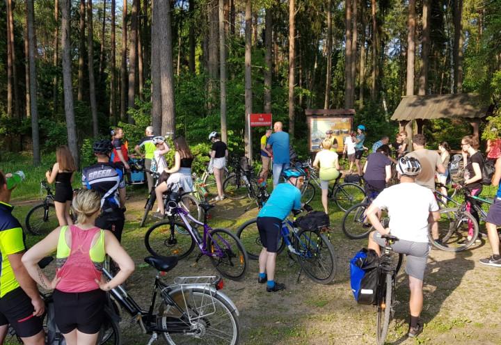 Wycieczka rowerowa na Pasieki