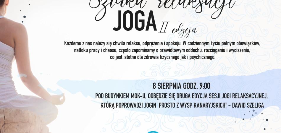 grafika dla wpisu: Sztuka relaksacji - JOGA