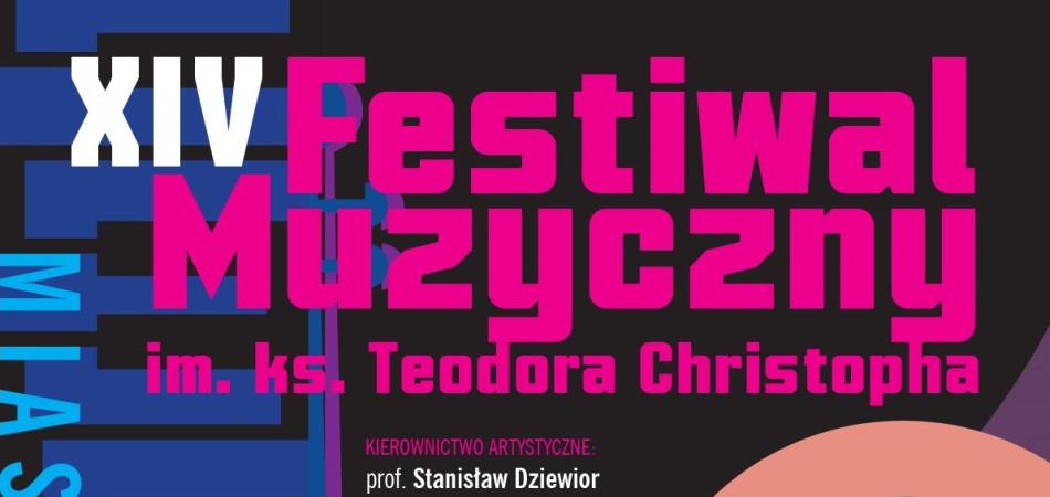 grafika dla wpisu: Festiwal Muzyczny im. ks. Teodora Christopha
