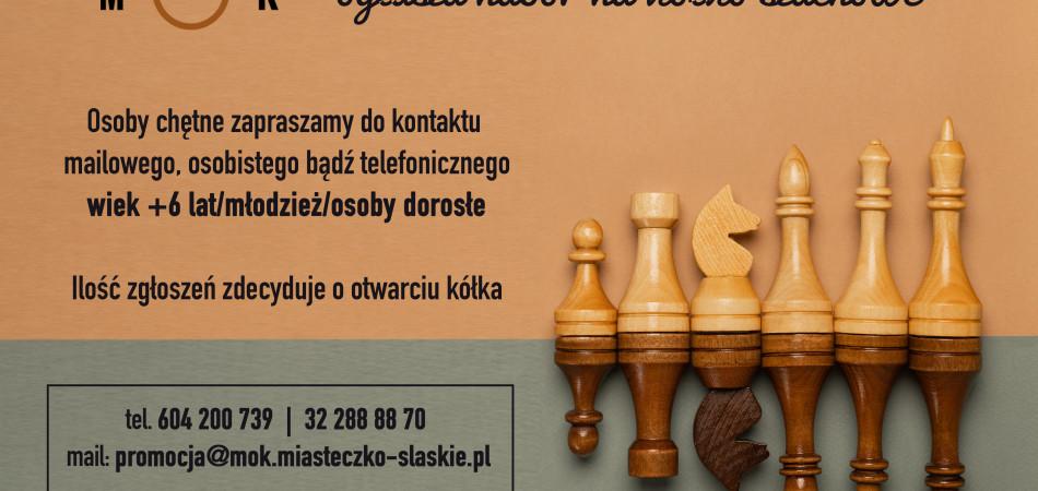 grafika dla wpisu: Nabór na kółko szachowe